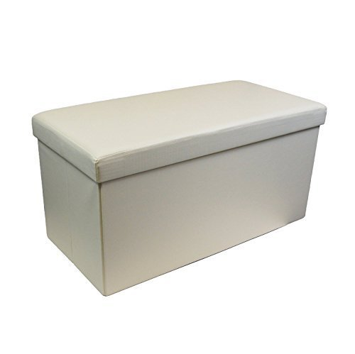 large-cream-faux-leather-luxury-ottoman-pouffe-stool-folding-storage-box-collapsible