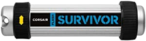 Corsair Flash Survivor 16 GB USB 2.0 Flash Drive CMFUSBSRVR-16GB