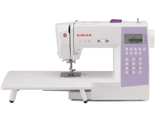 Singer 1000+ Stitches Computerized Sewing and Serge Machine w/ Extension Table, Soft Carrying Case and Amazing Accessory Package