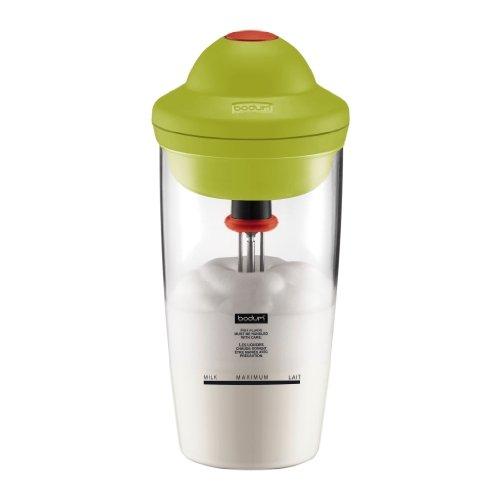 Bodum 10864-565G Bodum Latte Fouet à Lait Électrique 0,2 L Vert Citron