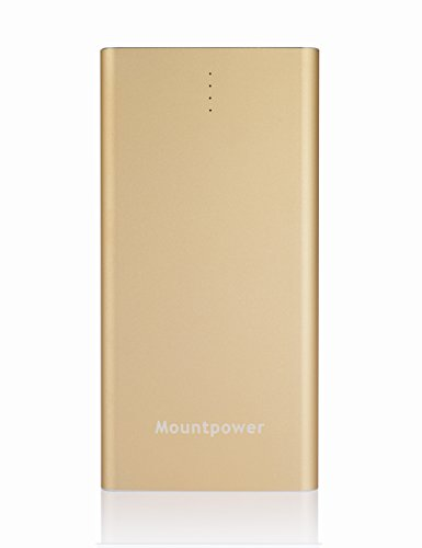 Thanksgiving Sales Mountpower 6000Mah Ultra-Thin Power Bank Li-Polymer Battery Portable Charger Rechargeable Back-Up Charger, Easy To Carry,Fast Charging, Mobile Power Supply For Iphone 5, Iphone 4, Iphone 4S, Ipad, Ipad 2/3, Ipod, Blackberry, Htc, Androi