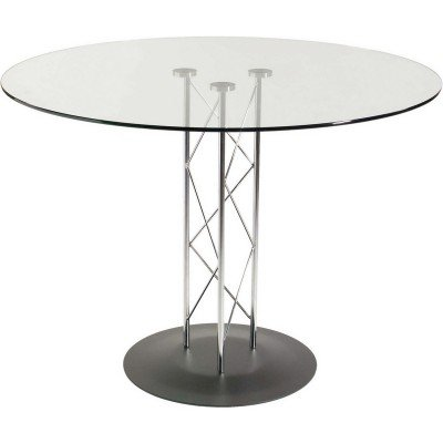 This deals eurostyle trave 42 inch round glass dining for Dining table deals