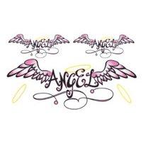 Angel Wings Temporary Tattoo 2.5x3.5