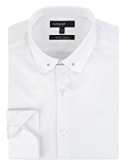 Autograph Pure Cotton Collar Bar Shirt
