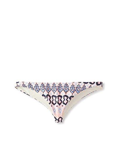 Eberjey Women's Bleached Blues Coco Thong Bikini Bottom