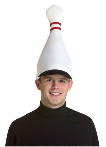 Rasta Imposta Bowling Pin Hat, White, One Size