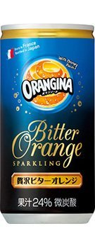 オランジーナ 贅沢ビターオレンジ 190ml缶×30本