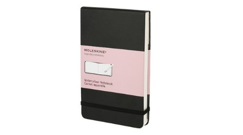 Moleskine Pocket Watercolor Book - Black (3.5 x 5.5) (Reporter Notebooks)