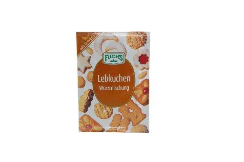 German Fuchs Spice Blend Gingerbread - 1 x 15 g