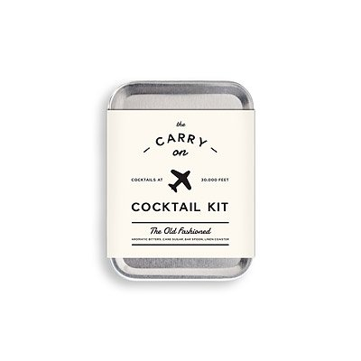 W&P Design W&P Carry-On Cocktail Kit MAS-CARRY-KIT , Silver