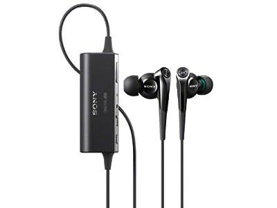 Sony Noise Canceling Stereo In-Ear Headphones | MDR-NC100D B Black