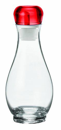 Guzzini GU-2313.01-65 Bolli Oil and Vinegar Cruet, 17-Ounce, Red