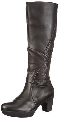 Think Womens Vinnta Boots  Black Schwarz (sz/kombi 09) Size: 8 (42 EU)