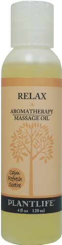 Relax Aromatherapy Massage Oil - 4 oz.