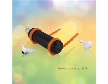 4G Mp3 Player Waterproof With 3.5Mm Jack, Headphones And Usb Port (Black)