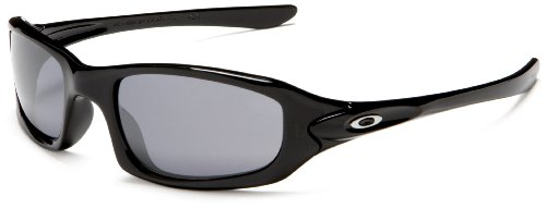 Oakley Men's Fives Iridium Sunglasses,Polished