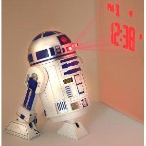Star Wars R2D2 Projection Alarm Clock 目覚まし時計(時刻投影)海外限定輸入品