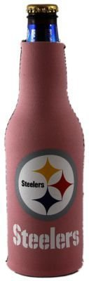 Pittsburgh Steelers Pink Womens Bottle Suit Koozie from SteelerMania