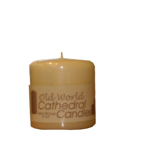Biedermann & Sons Old World Cathedral 60-Hour 3-Inch Pillar Candle