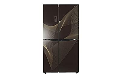 LG GC-M237JGNN Side-by-side Refrigerator (679 Ltrs, Karim Black)