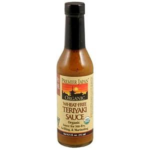 Organic Gluten Free Teriyaki Sauce (8.5oz)