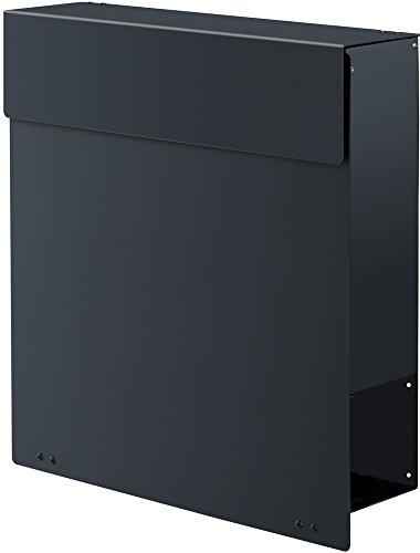 frabox design briefkasten namur stahl lackiert db 703. Black Bedroom Furniture Sets. Home Design Ideas