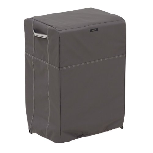 Classic Accessories 55-174-015101-EC Ravenna Square Smoker Cover, Taupe