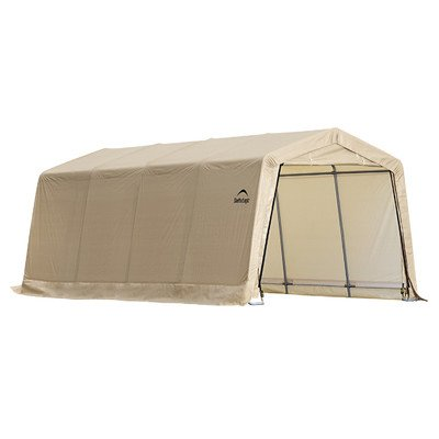 ShelterLogic 10 x 20- Feet New Auto Shelter,Tan (Garage Carport compare prices)