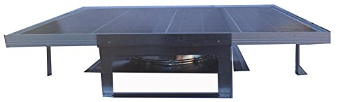 Amtrak Solar Most Powerful Roof Top Solar Attic Fan, 60W (Round Attic Vent compare prices)