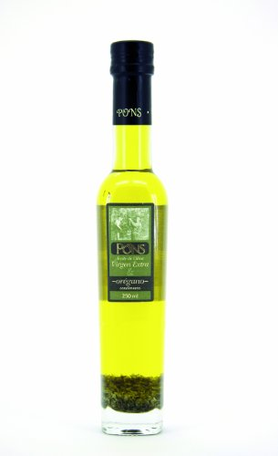 Pons Infused Oregano Olive Oil 250 ml (Pack of 2)