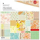 Basic Grey Fact & Fiction 12x12 Fiction Paper Pad