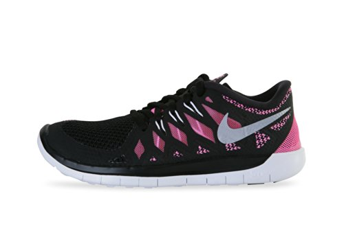pink and black nike free 5.0