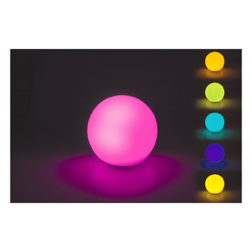 WATERPROOF FLOATING LED MULTI COLOUR BATH LIGHT BALL