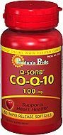 Puritan's Pride Q-sorb Co Q-10 100 Mg 60 Softgels 1 Bottle