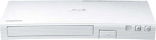 Samsung BD-J5500E/EN Lettore blu-ray, Colore Bianco