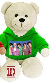 One Direction 9-in Collectible Bear - Group Photo - Green - 1d by i-Star Entertainment