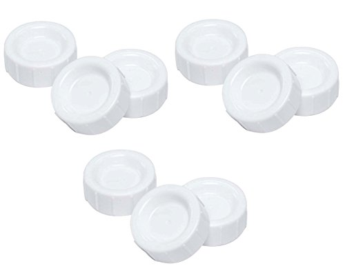 Dr. Brown's Natural Flow Standard Storage Travel Caps Replacement, 9 Count
