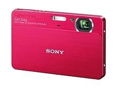 ソニー デジタルカメラCybershotT700 (1010万画素光学x4内蔵メモリ4G3.5型タッチP液晶)レッド DSC-T700/R