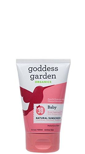 Baby Natural Sunscreen SPF 30 - 3.4oz - Cream