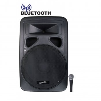 Supersonic Sc315Djb High Quality Clear 15-Inch Dj Bluetooth Speaker