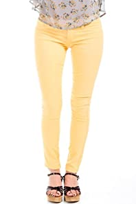 Cello Jeans Non-Riveted Jeans in Corn Yellow