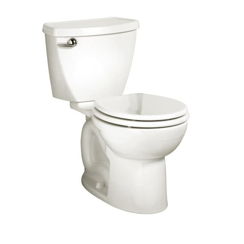 American Standard 2829.128.020 Cadet-3 FloWise Round Front Two-Piece High Efficiency Toilet, White