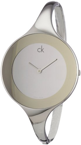 Calvin Klein Ladies Watch Mirror Silver, Gr. S, K2823360