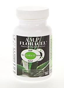 AMP Floracel, Aloe Solution for Digestive Diseases and Disorders, Colitis, Diverticulitis, Acid Reflux, Constipation, Crohn's, IBS