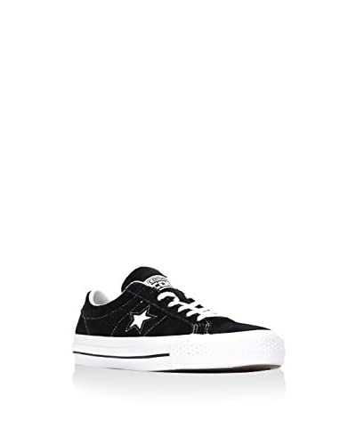 Converse Sneaker Cons One Star Hairy schwarz