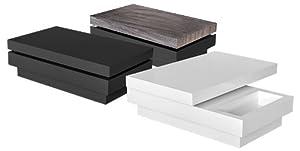 moderne couchtisch modern schwarz gl nzend. Black Bedroom Furniture Sets. Home Design Ideas