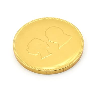V&A Milk Chocolate Coin||EVAEX