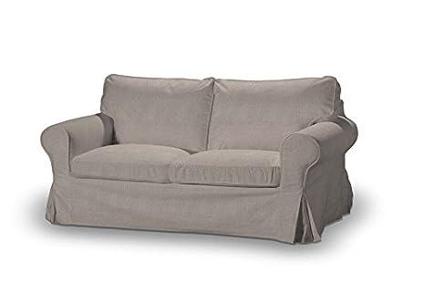 Dekoria 611-705-09 - Rivestimento per divano Extorp 2 posti, non richiudibile, Etna, colore beige/grigio
