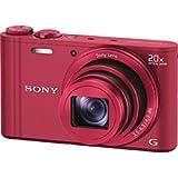 ソニー デジタルスチルカメラ Cyber-shot WX300 (1820万画素CMOS/光学x20) レッド DSC-WX300/R