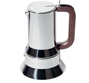 Alessi 9090/M Stovetop Richard Sapper Espresso Maker 10 Cups by Alessi